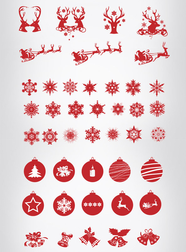 Christmas Icon Mega Pack (108 Icons) by Pascal van den Essenburg