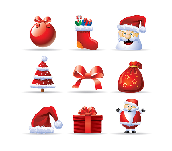 9 Free Christmas Icons by Sheriff Aden