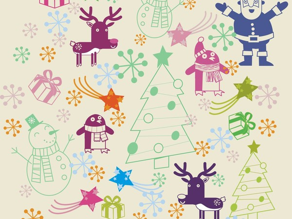 Christmas Pattern by Como Yo Dsg