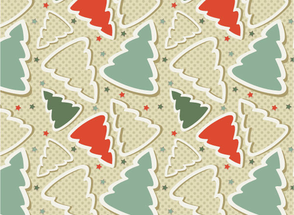 Free Christmas Seamless Pattern