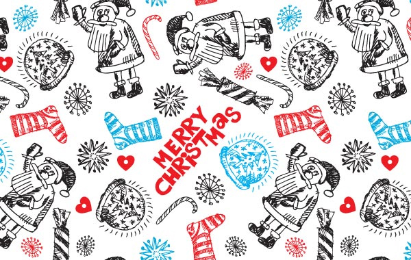 Christmas Pattern by vectorbg