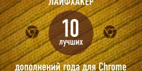 ТОП-10: Лучшие дополнения для Chrome 2013 года по версии Лайфхакера
