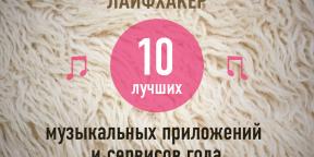 ТОП-10: Лучшие музыкальные приложения и сервисы 2013 года по версии Лайфхакера