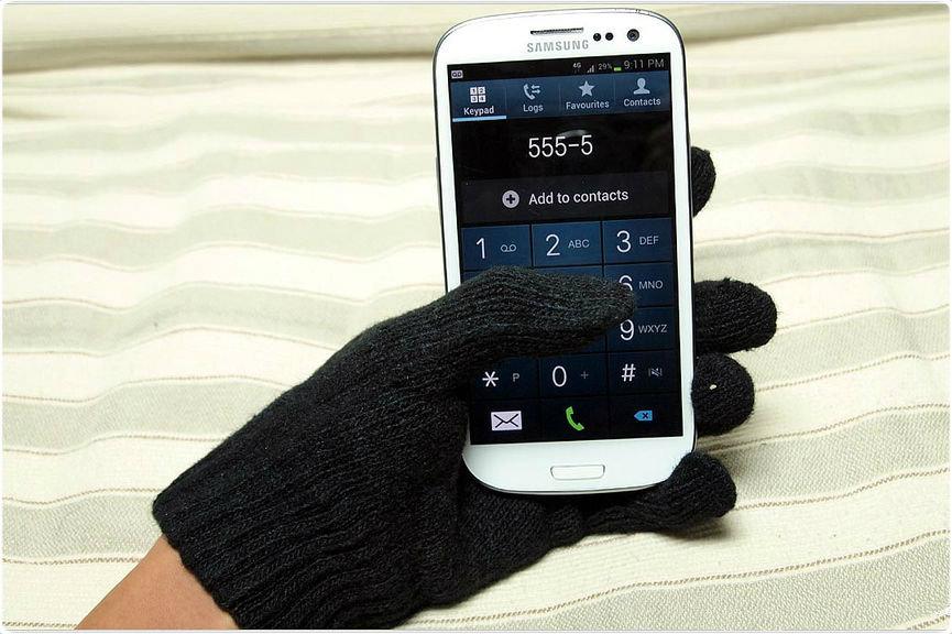Делаем перчатки для сенсорных экранов