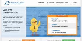 Веб-сервис «Большая Птица»: торговый учет для малого бизнеса