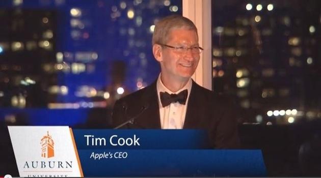 Тим Кук выступил в своей альма-матер с речью о правах человека