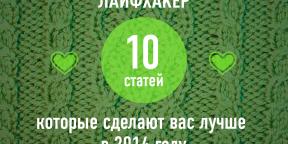 ТОП-10: Лучшие статьи, которые сделают вас лучше в 2014 году