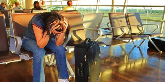 «Аварийный» набор для самолета спасет во время задержки рейса