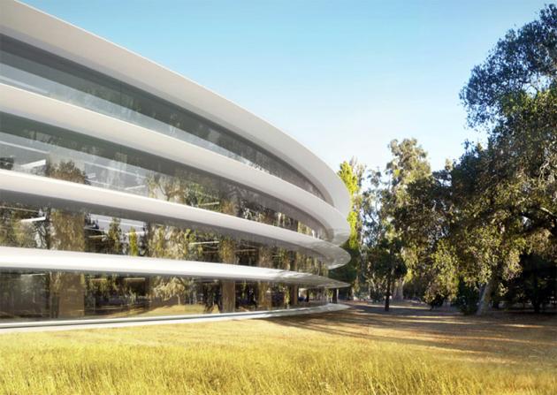 На стройке нового кампуса Apple пойман вор