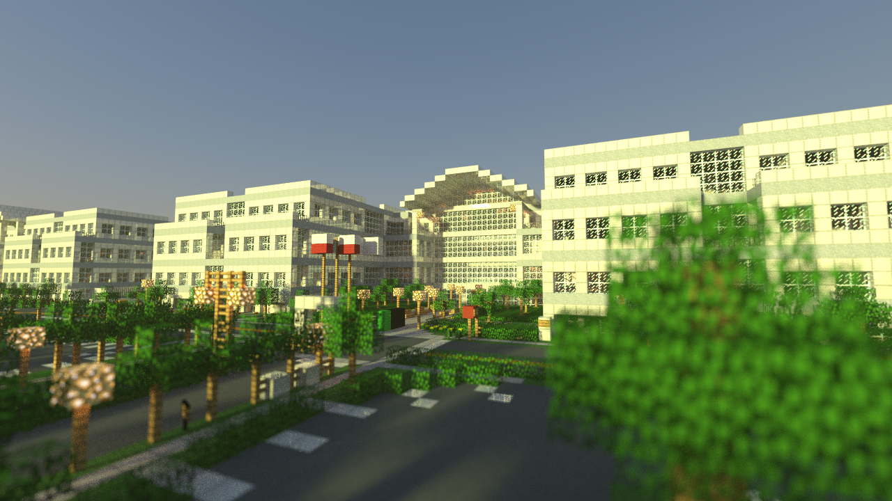 Штаб-квартира Apple в Купертино воссоздана в Minecraft