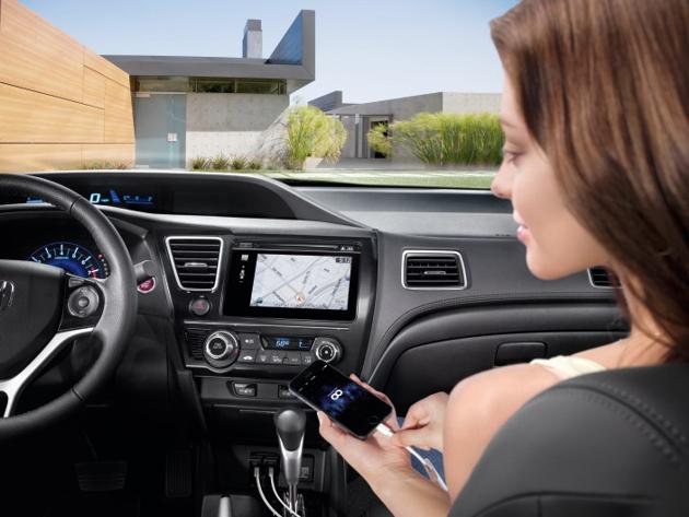 Honda начнет выпуск автомобилей с поддержкой iPhone