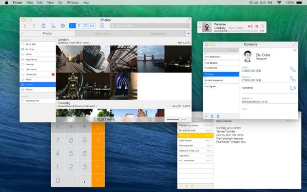 Как легко сделать интерфейс OS X более плоским?