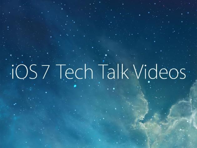 Apple выложила материалы прошедших семинаров Tech Talk по iOS 7