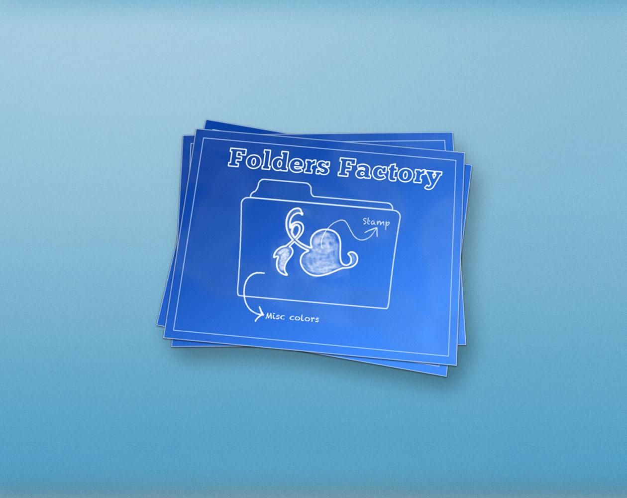 Folder Factory: меняем внешний вид папок OS X под себя