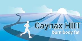 Caynax HIIT - удобный таймер для интервальных тренировок