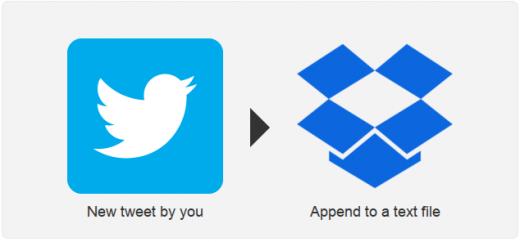 IFTTT дня: Сохраняем все свои твиты в текстовый файл