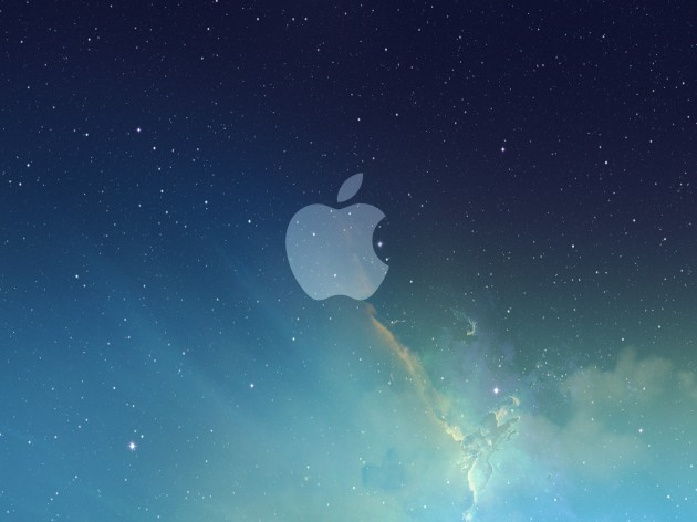 apple-logo-galaxy-wallpaper
