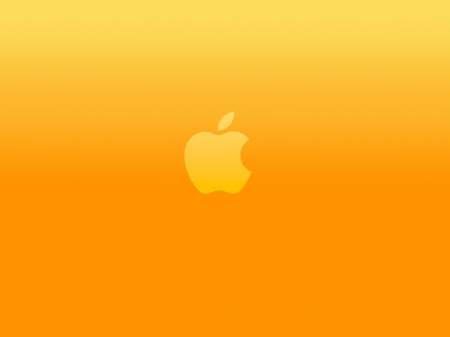 bright-orange-apple-logo