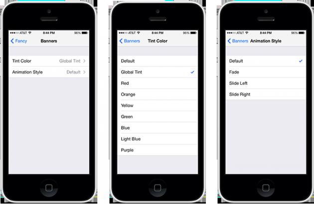 Fancy: Добавляем красок в интерфейс iOS 7 Jailbreak