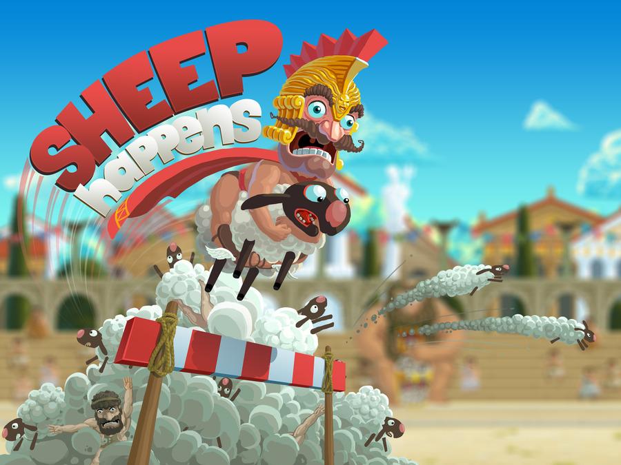 Sheep Happens: античные гонки на овцах