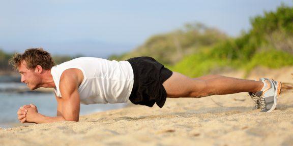Базовый core workout: пять минут «планок» в день