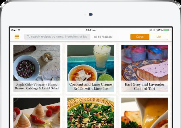 Zest - удобный менеджер рецептов для ваших лучших блюд