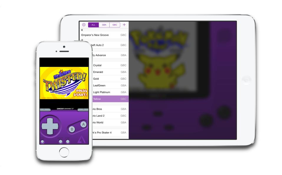 Как поиграть в игры для Game Boy Advance на iPhone без джейлбрейка?  GBA4iOS