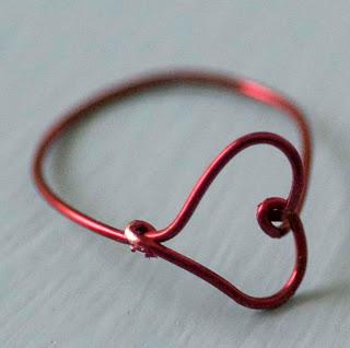 как сделать кольцо из проволоки