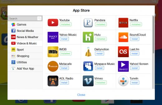 Android New Tab - новая вкладка Firefox в стиле Android