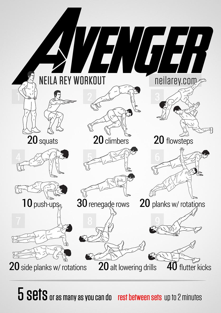 Avenger Workout