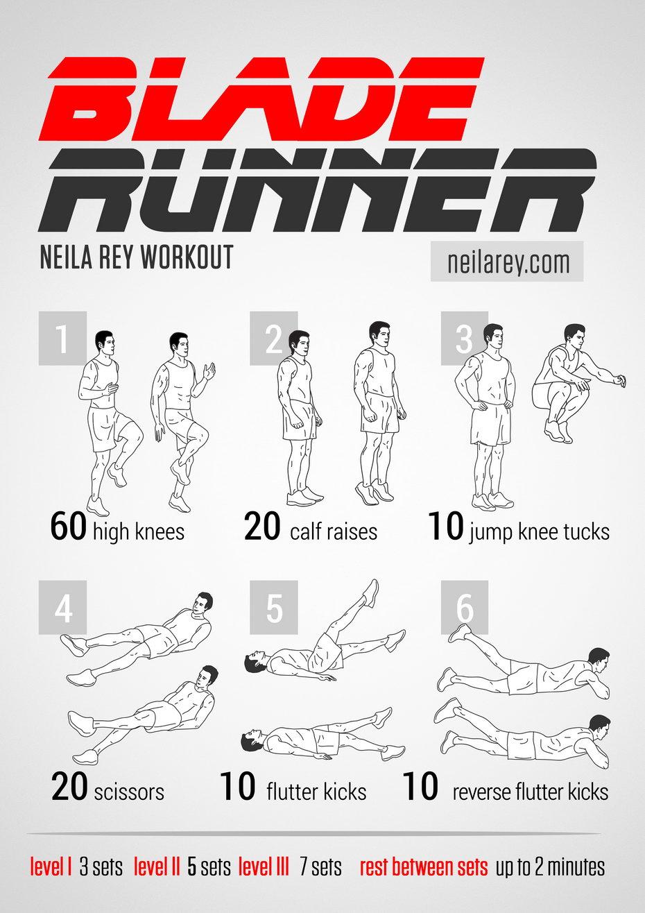 Blade Runner Workout