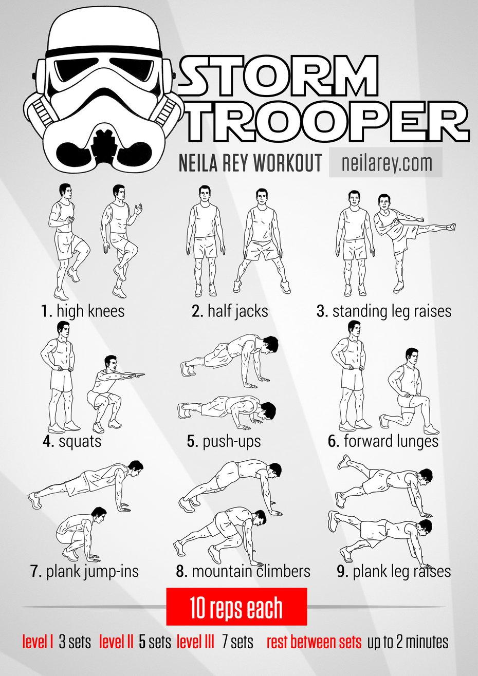 Stormtrooper Workout