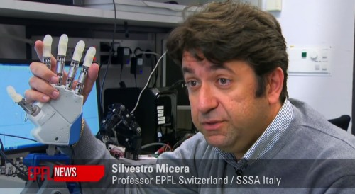 Бионический протез замещает чувство осязания утраченной руки