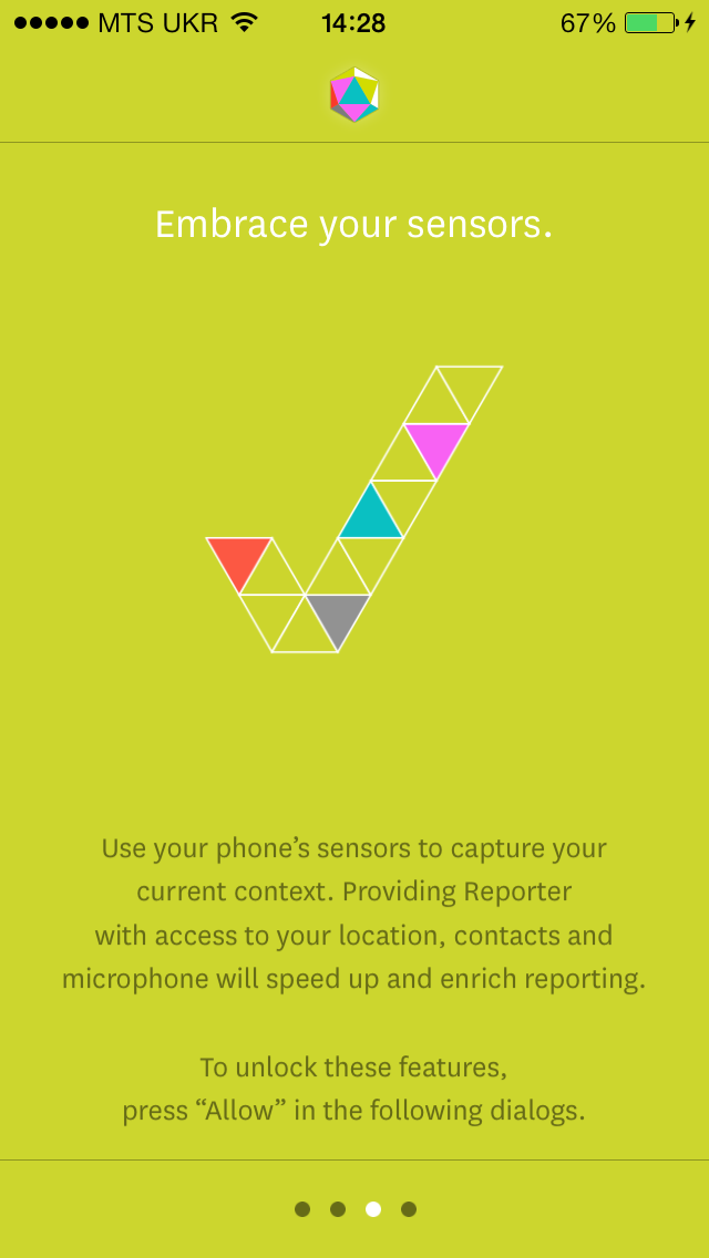 Reporter - приложение, которое создаст и проанализирует историю вашей жизни