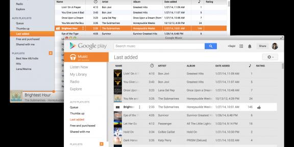 Google Music теперь можно пользоваться в виде нативного приложения под OS X