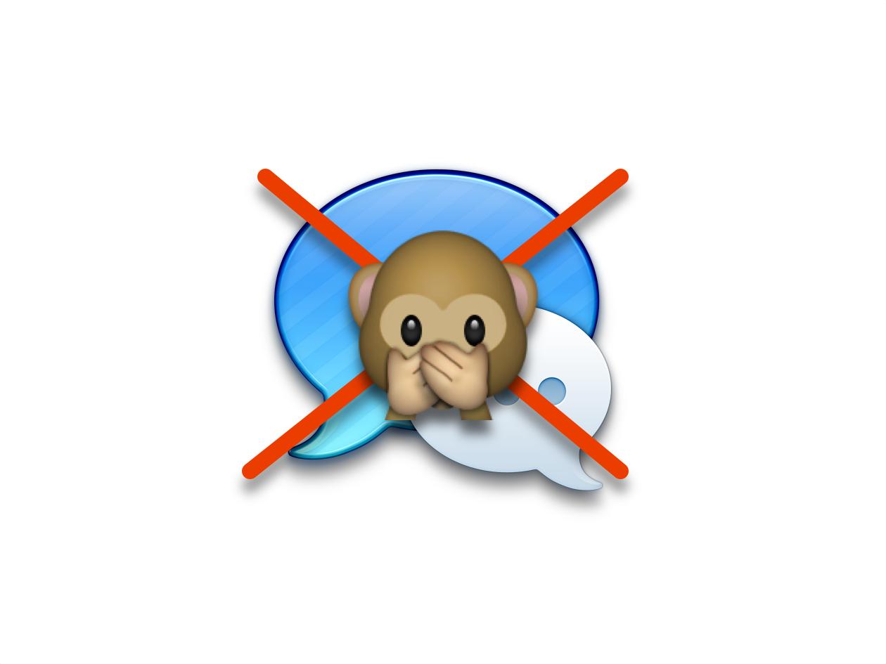 Как заблокировать определенных контактов в Сообщениях на Mac