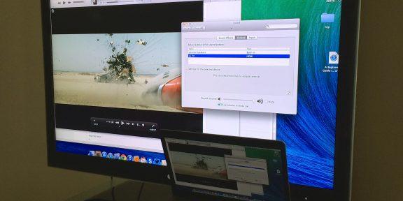 Что делать, если по HDMI с Macbook Pro не передается звук на телевизор