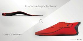 """Le Chal: не просто фитнес-трекер, но и """"умная"""" обувь для слабовидящих людей"""