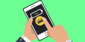 5 приложений, которые сэкономят заряд батареи Android-смартфона
