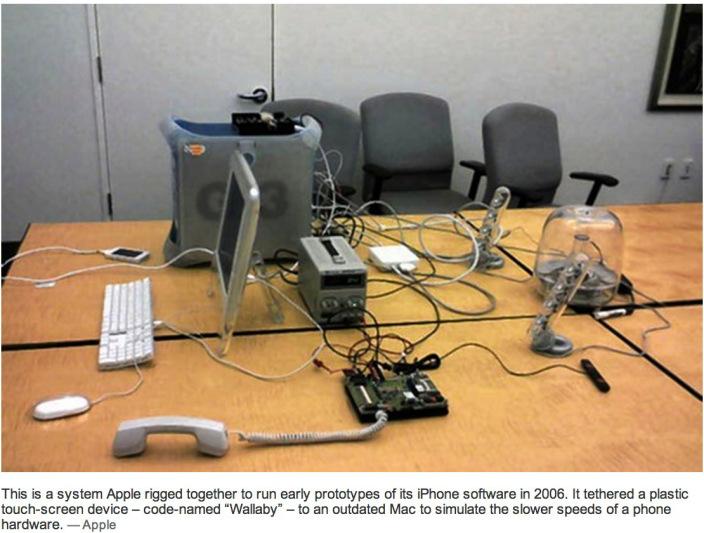 Комната, в которой родился iPhone