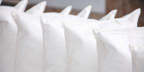 Как вернуть подушке белый цвет