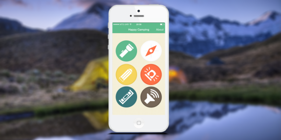 Happy Camping - приложение, необходимое каждому любителю походов