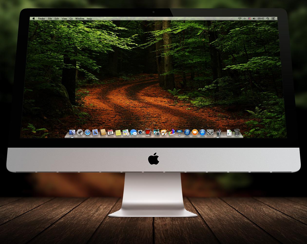 Обои для OS X: Пути-дорожки №5