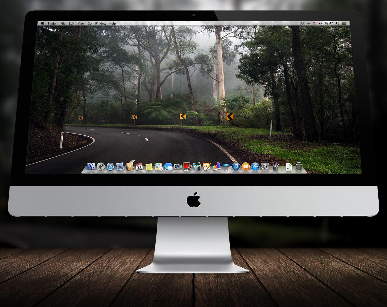 Обои для OS X: Пути-дорожки №6