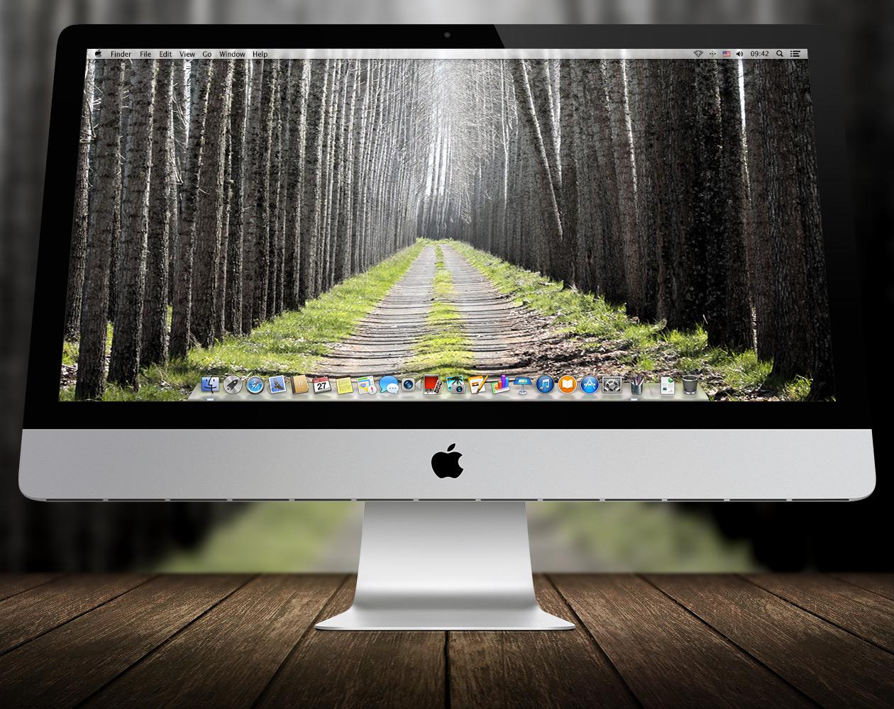 Обои для OS X: Пути-дорожки №9