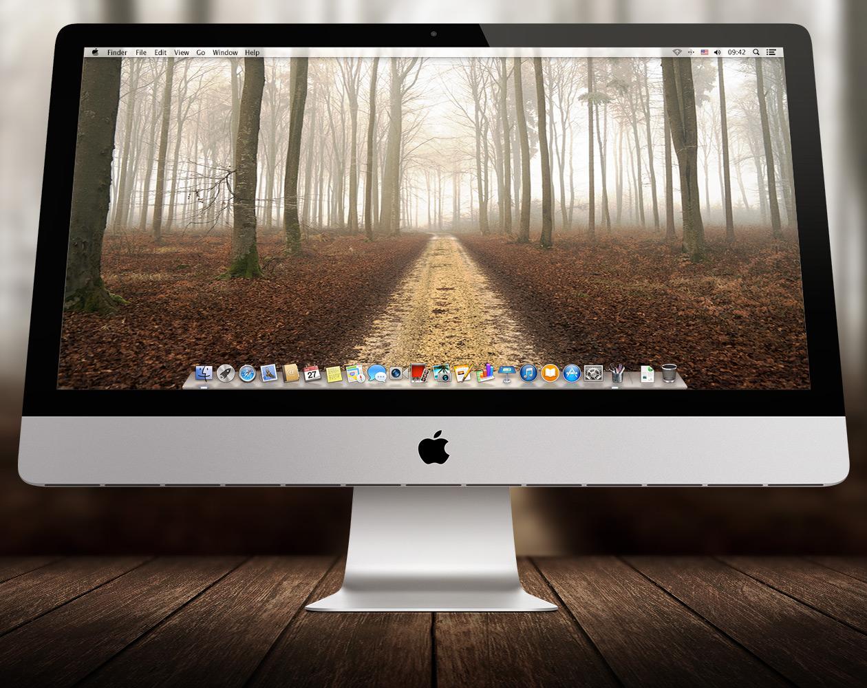Обои для OS X: Пути-дорожки №10