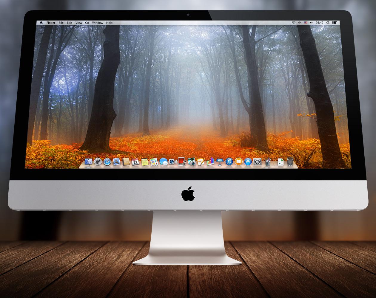 Обои для OS X: Пути-дорожки №11