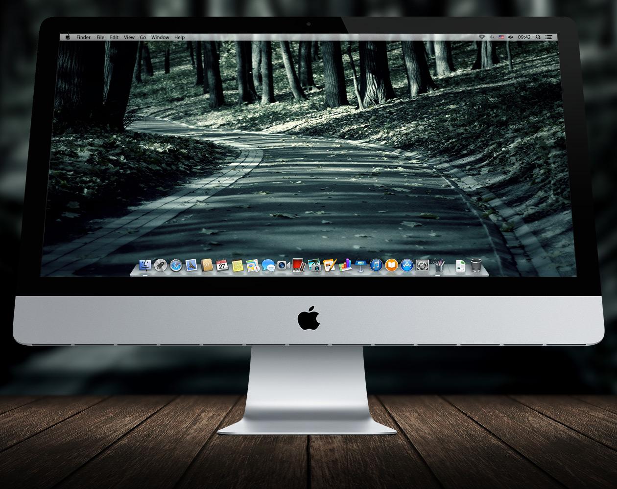 Обои для OS X: Пути-дорожки №12