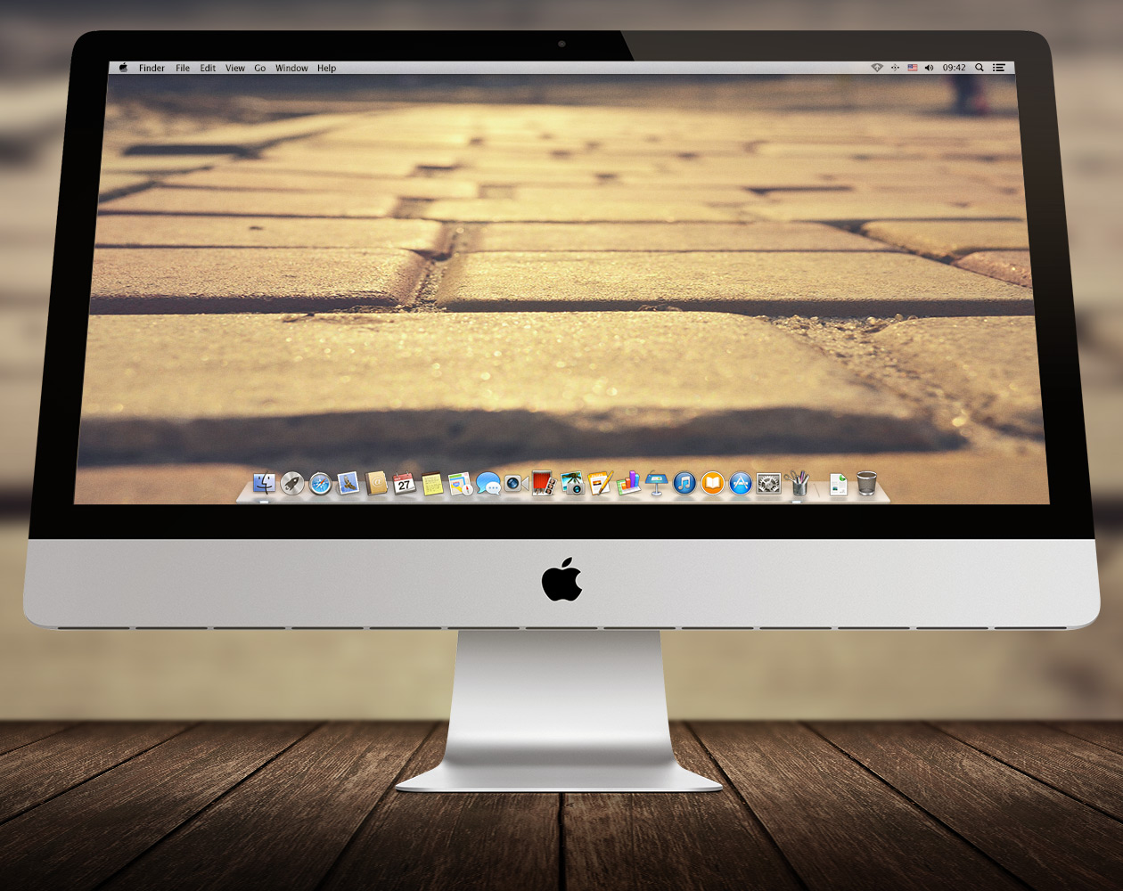 Обои для OS X: Пути-дорожки №14