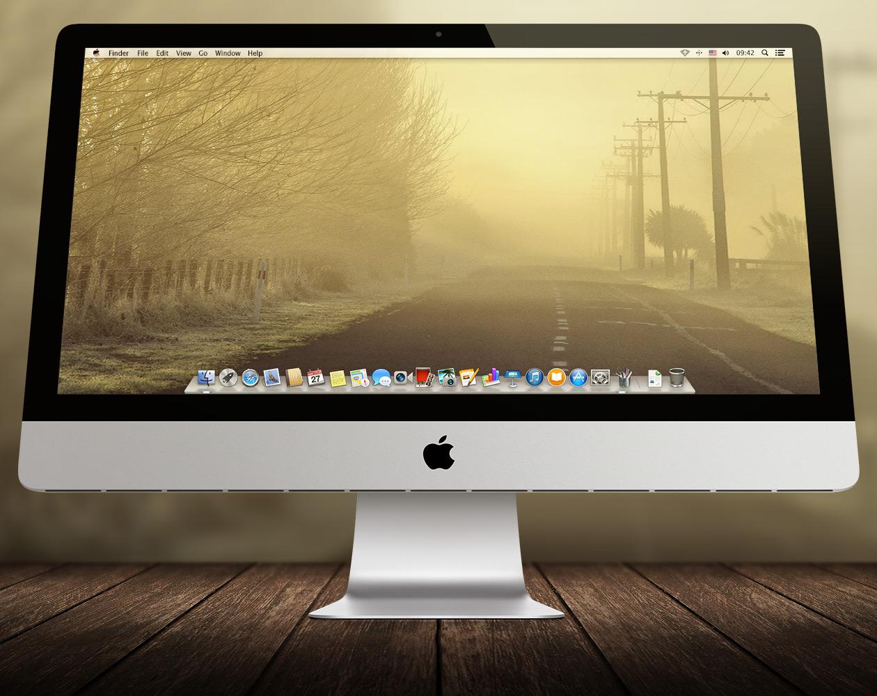 Обои для OS X: Пути-дорожки №15